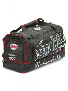 Sandee Heavy Duty Holdall Medium Black Red BJJ No-Gi Jiu Jitsu MMA Gym Bag