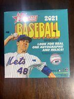 2021 Topps Heritage MLB Baseball Mega Box Walmart Exclusive - Factory Sealed