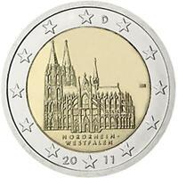 2 Euro Allemagne 2011 Cathédrale de Cologne - Nordrhein-Westfalen Monnaie: A