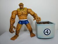"Marvel Legends Toybiz FF Fantastic Four 4 Box Set The Thing 6"" Ben Grimm Figure"