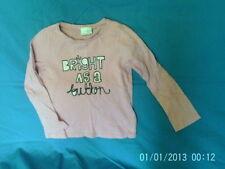 Next Girls' Logo Long Sleeve Sleeve T-Shirts, Top & Shirts (2-16 Years)