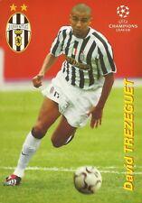 David TREZEGUET Juventus FC / France / FOOTBALL soccer STARS Russian CARD Carte