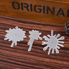 Water Spray Cutting Dies Stencil DIY Scrapbooking Embossing Card Album Cr Gift