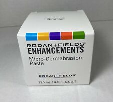 Rodan + Fields ENHANCEMENTS Micro Dermabrasion Paste Jar 4.2 oz NEW