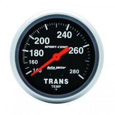 "Auto Meter 3451 2-5/8"" Sport-Comp Mechanical Trans Temp Gauge, 140-280 °F"