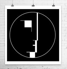 Bauhaus Logo Poster Rolled Canvas Giclee Print 24x24 in.