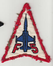 Wartime Thai Made USAF F-5 Patch