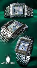 Luxurious & Beautiful astboerg Unisex Watch with eta-swiss werk&echtes Sapphires