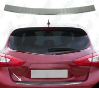 To Fits Nissan Pulsar 2014Up Chrome Rear Bumper Protector Scratch Guard S.Steel