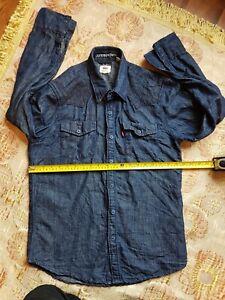 Levis Light Blue Denim Shirt Medium