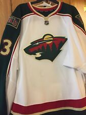 2012-13 NHL AHL JOEL BARODA GAME ISSUED HOCKEY JERSEY