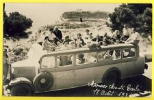 cpa Carte Photo Automobile Taxi MONACO MONTE CARLO en 1931 PHOCEENS CARS NICE
