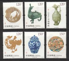 P.R. OF CHINA 2017-17 PHOENIX CULTURAL RELICS & ARTIFACTS COMP. SET 6 STAMP MINT