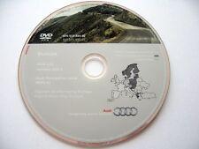 Audi A3 A4 A6 TT R8 RNS-E navigation DVD 2012/2013 UK Ireland Belgium Austria