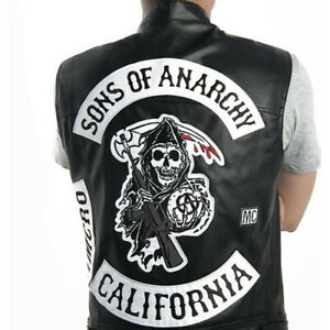 Sons Of Anarchy Men S Coats Jackets Vests For Sale Ebay