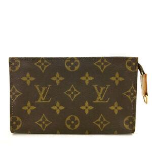 Louis Vuitton Monogram Cosmetics Pouch (Bucket PM) Purse /A0034