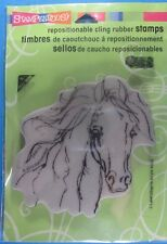 Stampendous Filly Sketch Rubber Stamp