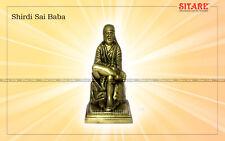 Shirdi Sai Baba Divine Panchdhatu Idol Energised Statue Hindu AD035 India