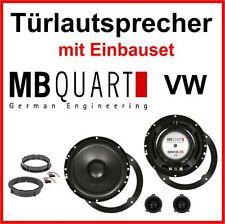 MB QUART Cajas De Altavoces Kit para VW Golf 4 Altavoz Frente de puertas trasero