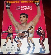 Sports Illustrated  July 10 1967 Muhammad Ali