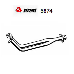 Hose Gas Exhaust System Front Renault R14 Rosi For 7700649148