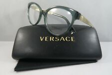 Versace Women's Green Glasses with case MOD 3237 5211 52mm