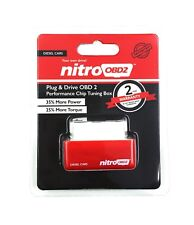 NITRO POWER DIESEL CHIP TUNING OBD2 PERFORMANCE ECU REMAP PLUG IN BOX