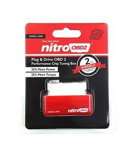 NITRO POWER DIESEL CHIP TUNING OBD2 PERFORMANCE ECU REMAP PLUG IN BOX