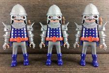 Playmobil knight of malta figure medieval grandmaster Swords Crusaders 3 Rare