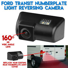Rear Van Number License Plate Reverse Parking Camera Kit For Ford Transit
