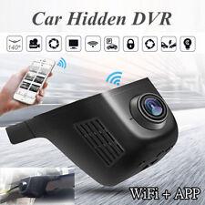 1080P WI-FI CAR DVR Nascosto Dash Cam HD VISIONE NOTTURNA TELECAMERA MONITOR VIDEO RECORDER