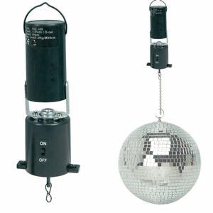 Battery operated Mirror Ball Motor Rotating Mirrorball Disco Bar Party DJ MBM-1