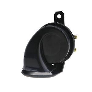 Black ABS And Metal 110dB Snail Air Horn Waterproof 12V Car Motorcycle Boat