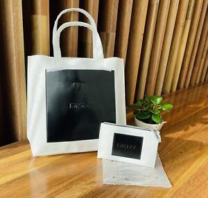 DKNY Tote Bag & purse-  white &  black - NEW!