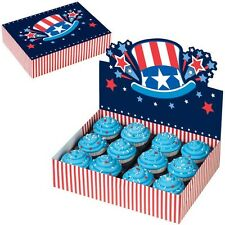 Uncle Sam Patriotic 4th of July Bakery Box from Wilton #1080 - NEW