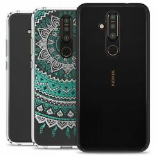 CoverON Nokia 8.1 Plus Clear Case Protective Hard Slim Phone Cover