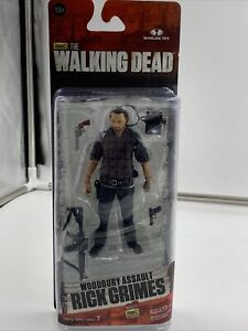 McFarlane Toys The Walking Dead Woodbury Assault  Rick Grimes Action Figure
