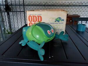 VINTAGE 1962 IDEAL ODD OGG Toy Monster Robot ROBOTIC TURTLE FROG TOY & BOX  L72