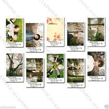 10pc BTS LOMO Card No BOX Bangtan Boys JungKook V Postcard Bloom PhotoCard Kpop