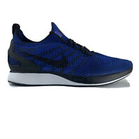 Mens Nike Air Zoom Mariah Flyknit Racer 918264-007 Blue Running Shoes size 8.5