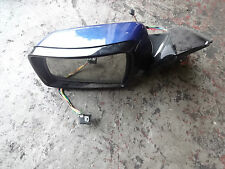 2004 (54) BMW X5 E53 complete left wing mirror Le Mans Blue