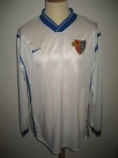 FC Basel PLAYER ISSUE Switzerland football shirt soccer jersey trikot size XL
