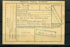 CUPON, SERVICIO POSTAL INTERIOR 'CUENTA CORRIENTE'', MANIZALES 1974  USED