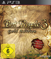 SONY PS3 Port Royale 3 -- Gold Edition GOTY PlayStation 3 OVP gebraucht USK6 TOP