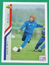 FOOTBALL CARD UPPER DECK 1994 USA 94 JOHN DE WOLF NEDERLAND PAYS-BAS KNVB
