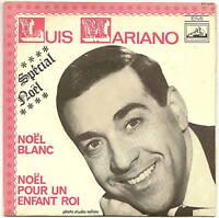 """LUIS MARIANO Vinyle 45 Tours 7"""" Spécial NOËL  VOIX DE SON MAITRE VF 521 F Reduit"""
