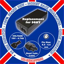 Para Sony Vaio pgc-7134m Ac Cargador Adaptador vgp-ac19v28