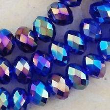 Wholesale!!!! 298PCS Crystal Blue AB better Loose Bead 3*4mm DIY