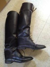 Cavalier LADIES Leather Field  Boots  BLACK Sz 7 1/2 Made in Brazil VGC