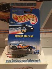 HOT WHEELS CAMARO RACE CAR, COLLECTOR # 242, NOC, 1991